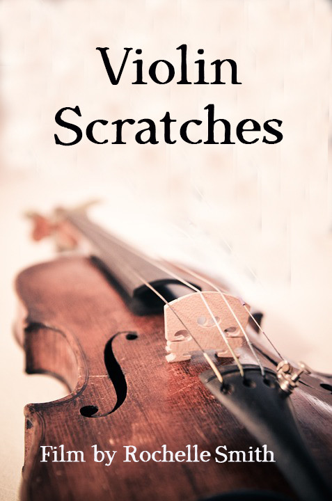 Violin Scratches Poster